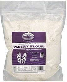flour pastry, 100% whole grain Wheat Montana Farms & Bakery Nutrition info
