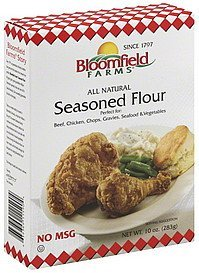 flour seasoned BLOOMFIELD FARMS Nutrition info