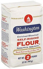 flour self-rising Washington Nutrition info