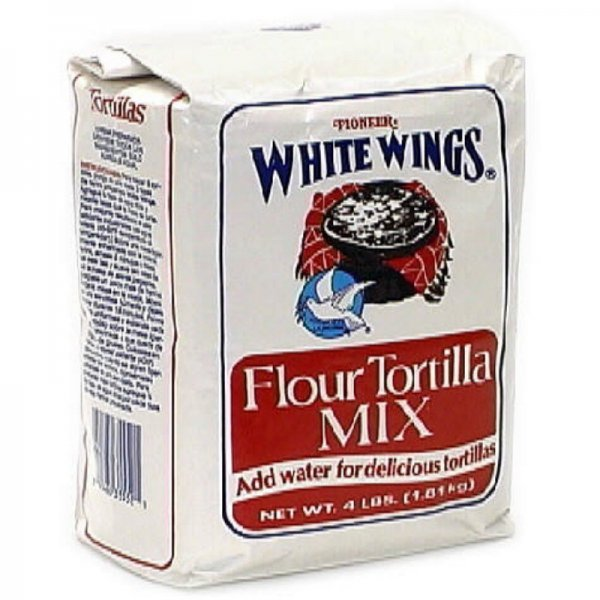 flour tortilla mix White Wings Nutrition info
