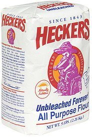 flour Heckers Nutrition info