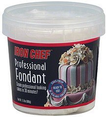 fondant professional Iron Chef Nutrition info