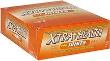 for joints bar brownie flavor XtraHealth Nutrition info