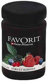 forest berries Favorit Nutrition info