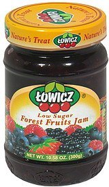 forest fruit jam Towicz Nutrition info