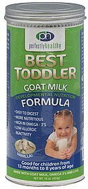formula best toddler, goat milk, vanilla Perfectly Healthy Nutrition info