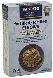 fortified elbows Pastato Nutrition info