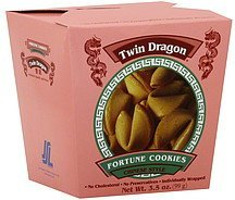 fortune cookies chinese style Twin Dragon Nutrition info