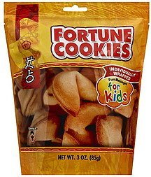 fortune cookies Umeya Nutrition info