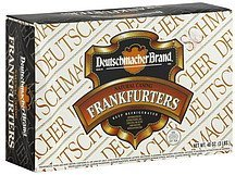 frankfurters natural casing Deutschmacher Brand Nutrition info