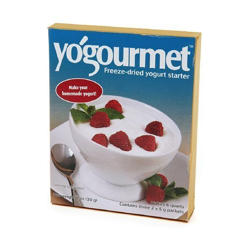 freeze-dried yogurt starter Yogourmet Nutrition info