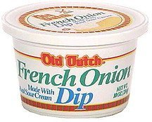french onion dip Old Dutch Nutrition info
