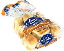 french rolls deli style Old Country Nutrition info