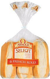 french rolls select Arnold Nutrition info