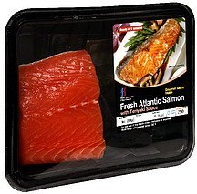 fresh atlantic salmon with teriyaki sauce Four Seasons Fine Foods Nutrition info