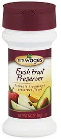 fresh fruit preserver Mrs. Wages Nutrition info