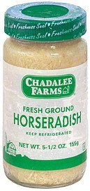 fresh ground horseradish Chadalee Farms Nutrition info