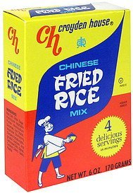 fried rice chinese mix Croyden House Nutrition info