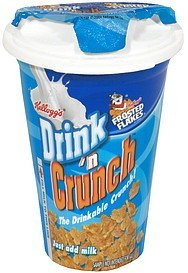 frosted flakes Drink 'n Crunch Nutrition info