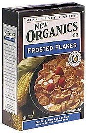 frosted flakes New Organics Co. Nutrition info