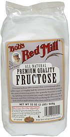 fructose Bobs Red Mill Nutrition info