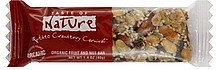 fruit and nut bar organic, quebec cranberry carnival Taste of Nature Nutrition info