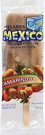 fruit bar tamarindo premium Helados Mexico Nutrition info