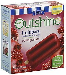 fruit bars pomegranate Edys Nutrition info