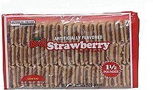 fruit bars, strawberry low fat General Henry Nutrition info