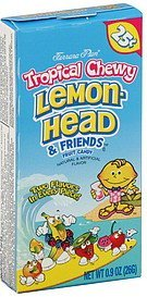 fruit candy tropical chewy Lemon-Head & Friends Nutrition info