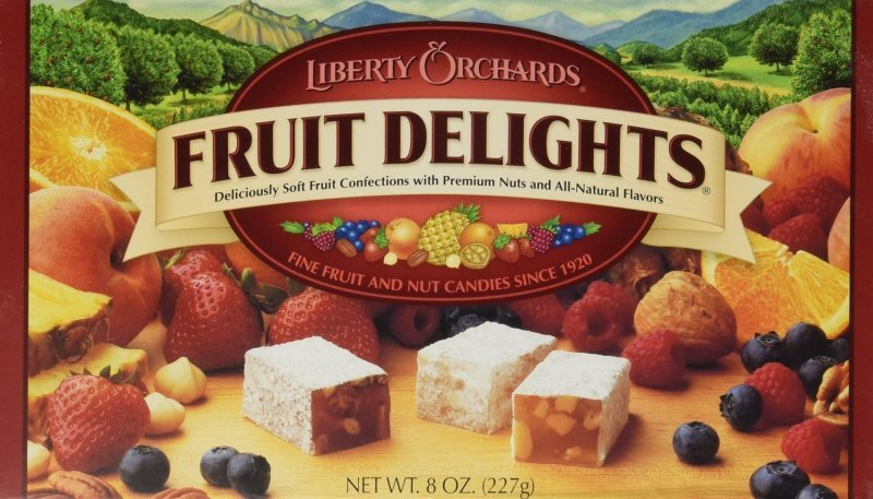 fruit delights Liberty Orchards Nutrition info