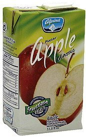 fruit drink nectar classic, apple Alpina Nutrition info