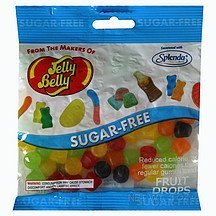 fruit drops sugar free Jelly Belly Nutrition info