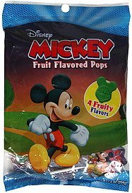 fruit flavored pops mickey Disney Nutrition info