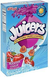 fruit flavored snacks mountain cooler Juicers Nutrition info