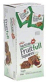 fruit-full squares apple Nutri-Grain Nutrition info