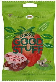 fruit gum strawberry cream Good Stuff Nutrition info