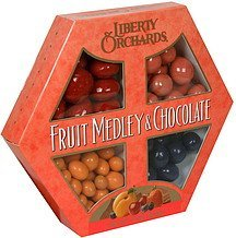 fruit medley & chocolate Liberty Orchards Nutrition info
