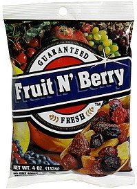 fruit n' berry mix Terri Lynn Nutrition info