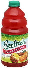 fruit punch tropical Everfresh Nutrition info