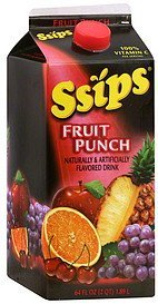 fruit punch Ssips Nutrition info