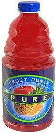 fruit punch Mr. Pure Nutrition info