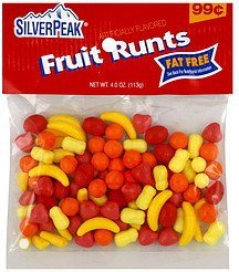 fruit runts Silver Peak Nutrition info