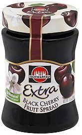 fruit spread black cherry, extra Schwartau Nutrition info