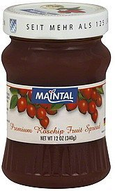 fruit spread premium rosehip Maintal Nutrition info
