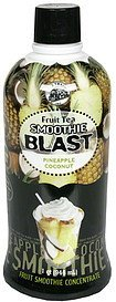 fruit tea smoothie blast pineapple coconut Big train Nutrition info