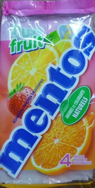 fruit Mentos Nutrition info