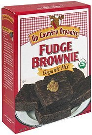 fudge brownie mix organic Up Country Organics Nutrition info