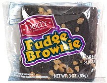 fudge brownie Dolly Madison Bakery Nutrition info