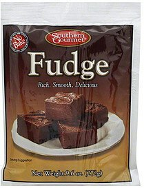 fudge no bake Southern Gourmet Nutrition info